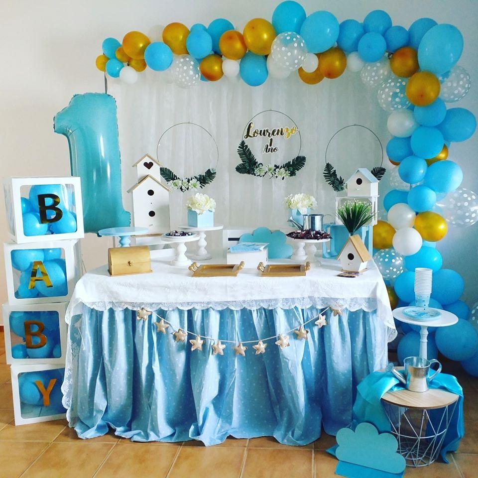 Decoração Temática 1º Aniversário | Oficina de Sonhos - Animação e Decoração de Eventos Algarve
