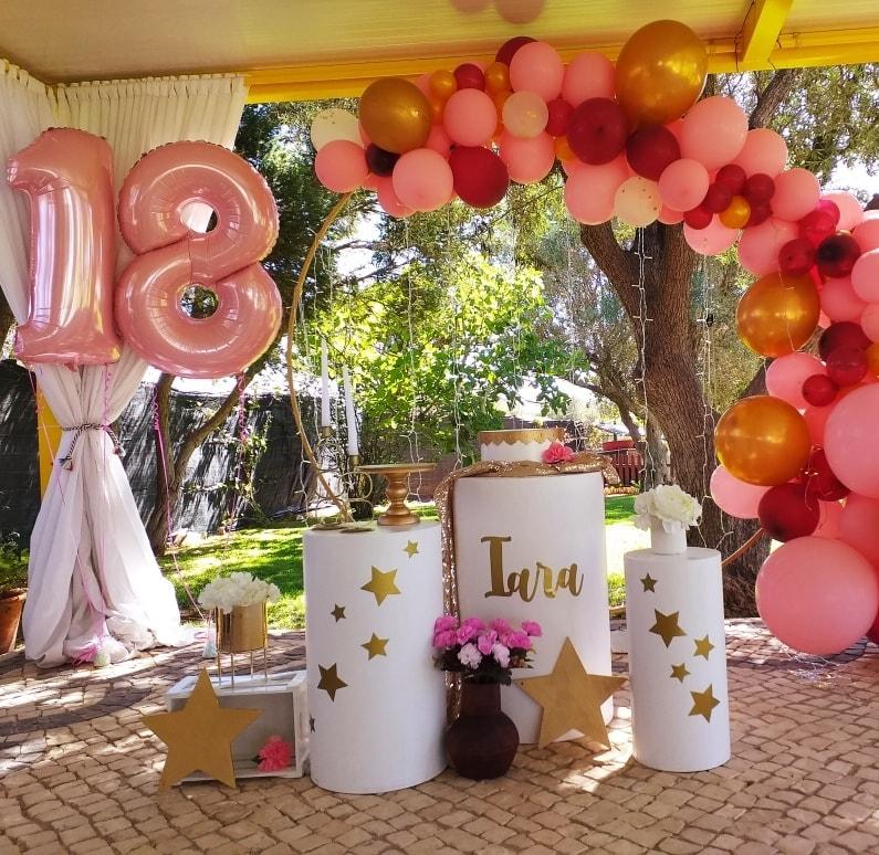 Decoração Festa Teenager | Oficina de Sonhos - Animação e Decoração de Eventos Algarve