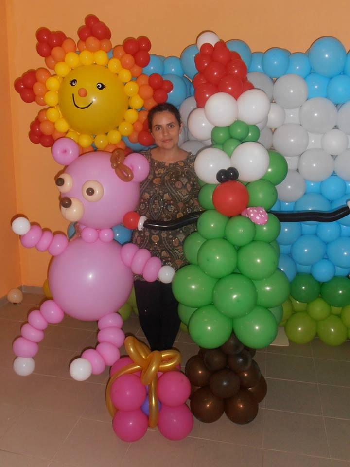 Decoração com Balões | Oficina de Sonhos - Animação e Decoração de Eventos Algarve