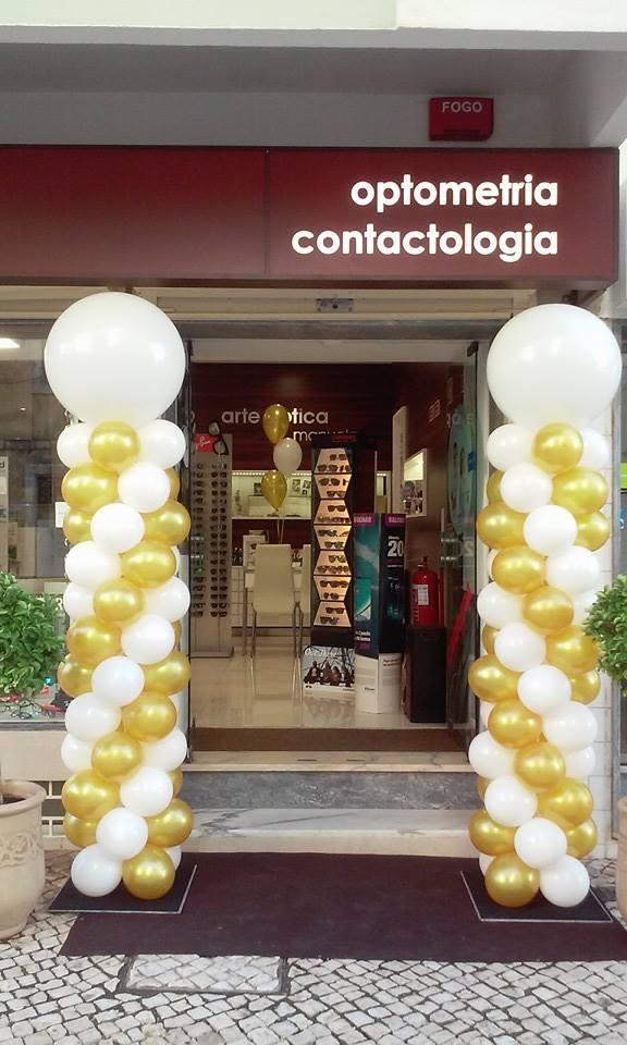 Colunas de Balões | Oficina de Sonhos - Animação e Decoração de Eventos Algarve