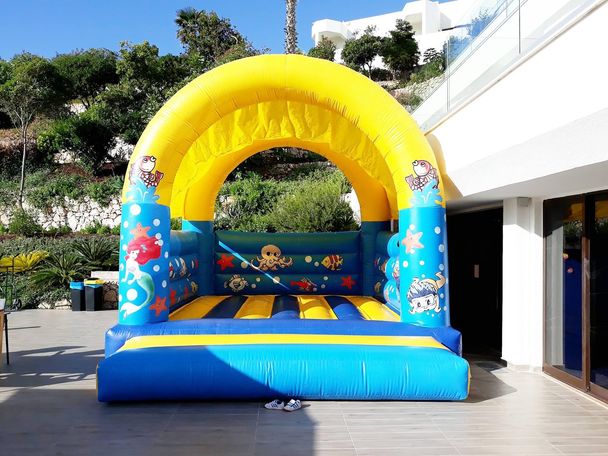 Insuflável Fundo do Mar | Aluguer de Insufláveis Oficina de Sonhos Algarve