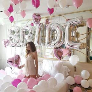 Decoração Balões Quarto da Noiva | Oficina de Sonhos - Animação e Decoração de Eventos Algarve