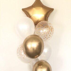 Bouquet de Balões Estrela | Oficina de Sonhos - Animação e Decoração de Eventos Algarve