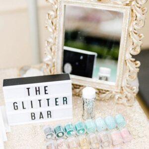 Gliter Bar | Oficina de Sonhos - Animação e Decoração de Eventos Algarve