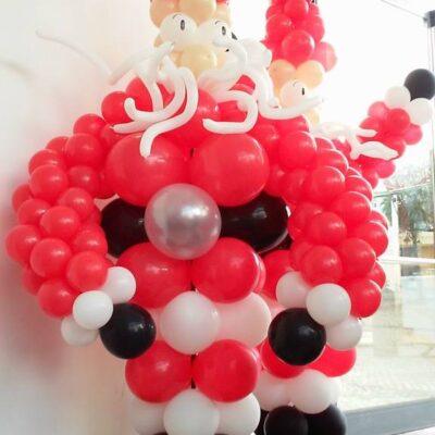 Pai Natal de Balões