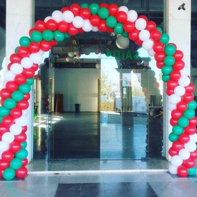 Decoração de Balões - Natal - Animação Infantil Algarve