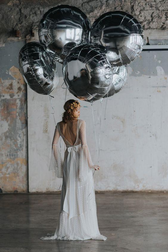 Balões Foil Gigantes Weddings   Oficina de Sonhos - Animação e Decoração de Eventos Algarve