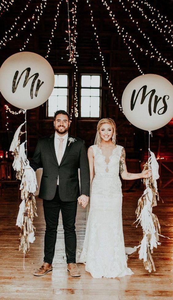 Balões Mr & Mrs Weddings   Oficina de Sonhos - Animação e Decoração de Eventos Algarve
