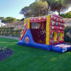 Insuflável A Pista | Aluguer de Insufláveis Oficina de Sonhos Algarve
