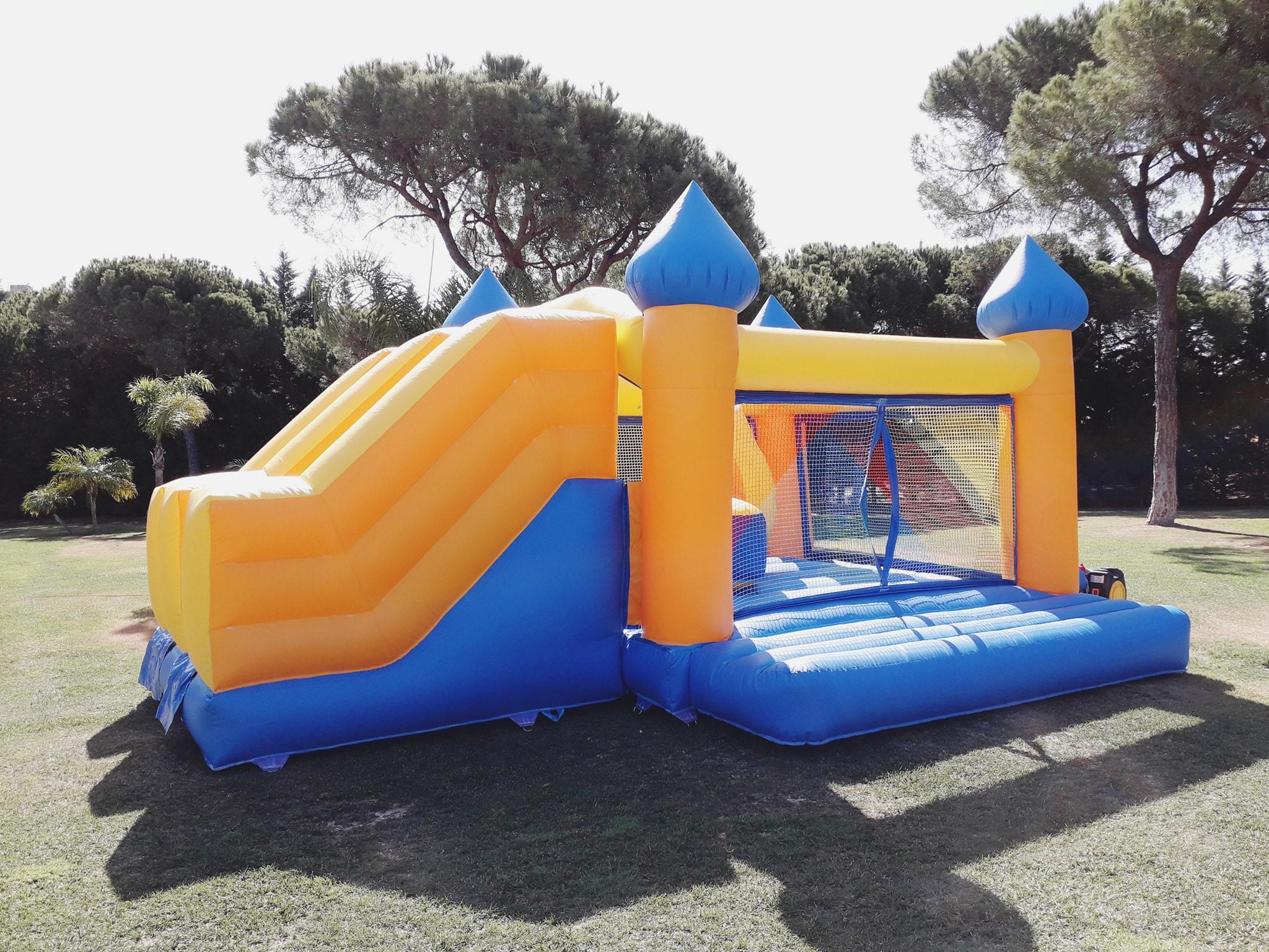 Insuflável Castelo Aladino | Aluguer de Insufláveis Oficina de Sonhos Algarve