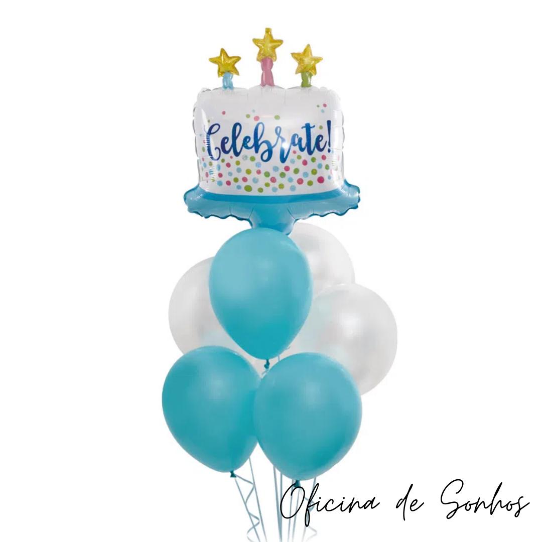 Bouquet de Balões Temático | Surpresas com Balões Algarve - Oficina de Sonhos