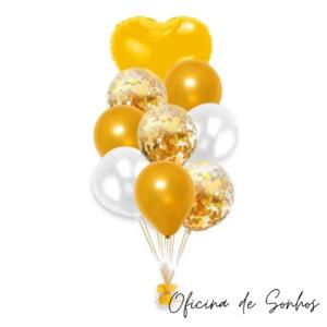 Bouquet Balões | Surpresas com Balões Algarve - Oficina de Sonhos
