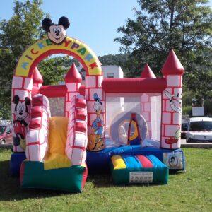 Aluguer de Insufláveis no algarve - Insuflável Mickey park - SERVIÇOS DE ANIMAÇÃO INFANTIL ALGARVE