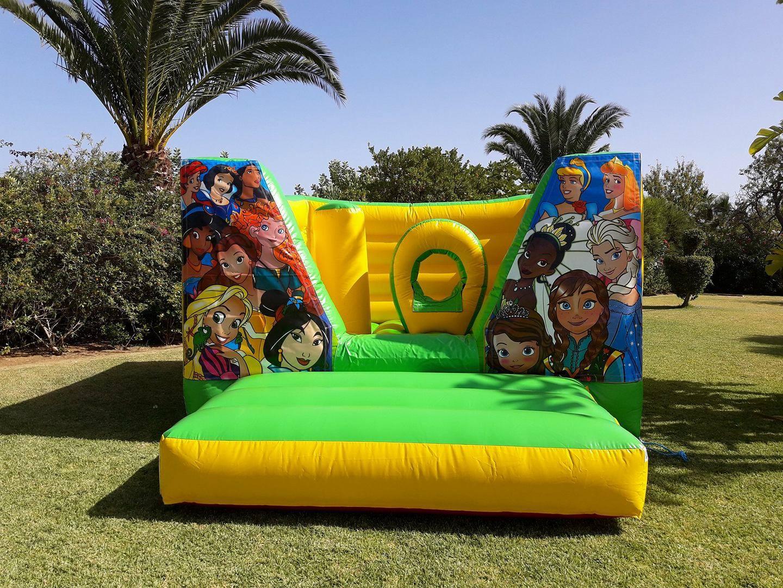 Insuflável Princesas Disney | Aluguer de Insufláveis Oficina de Sonhos Algarve