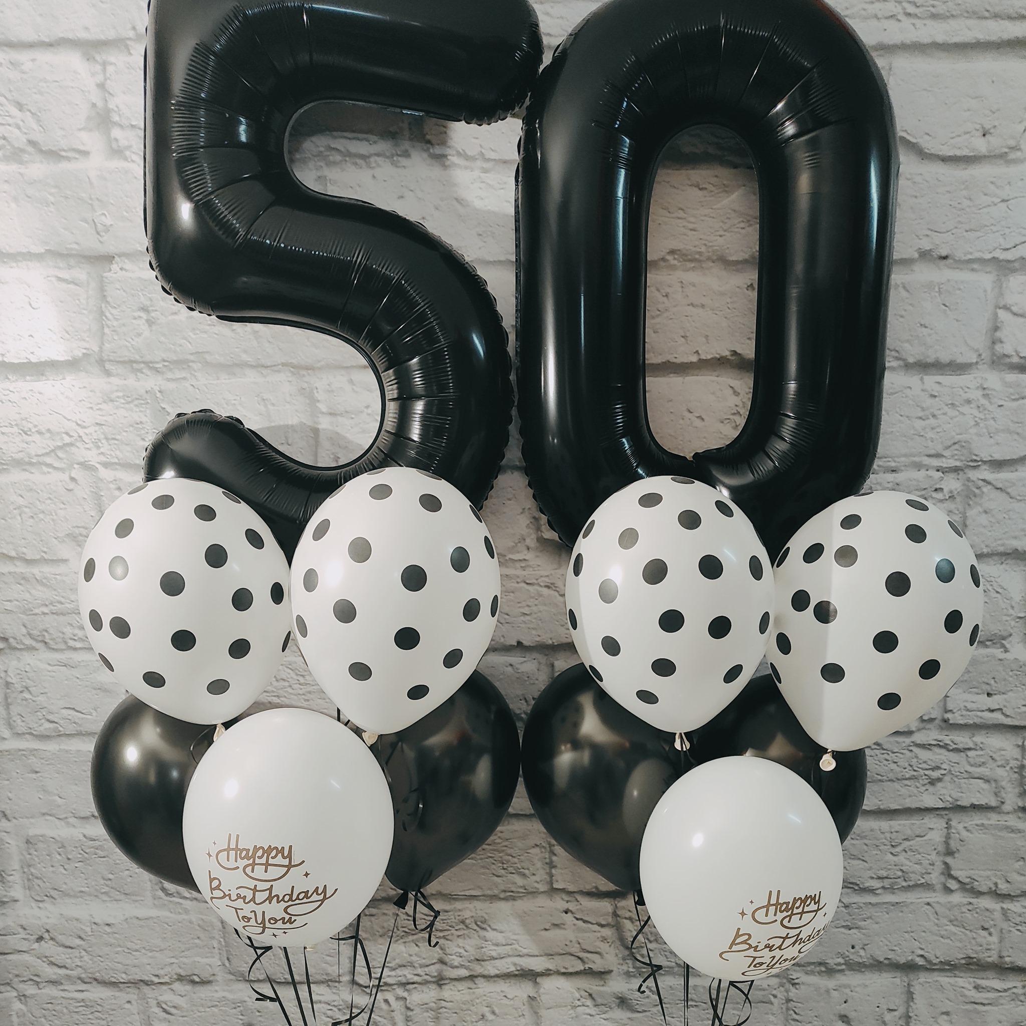 Bouquet de Balões Números | Surpresas com Balões Algarve - Oficina de Sonhos