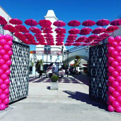Decoração de festas - decoração shopping lojas Balões - Oficina de Sonhos - SERVIÇOS DE ANIMAÇÃO INFANTIL ALGARVE