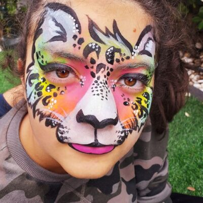 Pinturas faciais - Oficina de Sonhos - SERVIÇOS DE ANIMAÇÃO INFANTIL ALGARVE