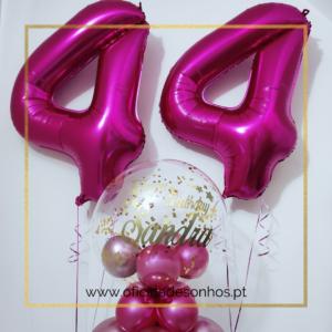 Balão Pack Aniversário | Surpresas com Balões Algarve - Oficina de Sonhos