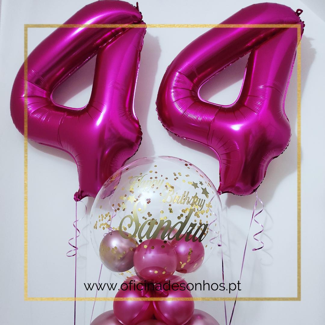 Balão Pack Aniversário   Surpresas com Balões Algarve - Oficina de Sonhos