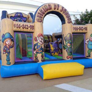 Insuflável Super Piratas | Aluguer de Insufláveis Oficina de Sonhos Algarve